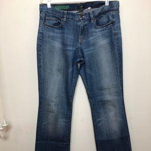 J.Crew Factory Premium Denim Bootcut Jeans